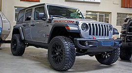 Mopar Garage - Customization Options - Lift Kit